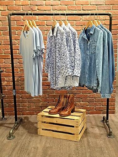 Beau Industrial Pipe Clothing Rack By William Robertu0027s Vintage