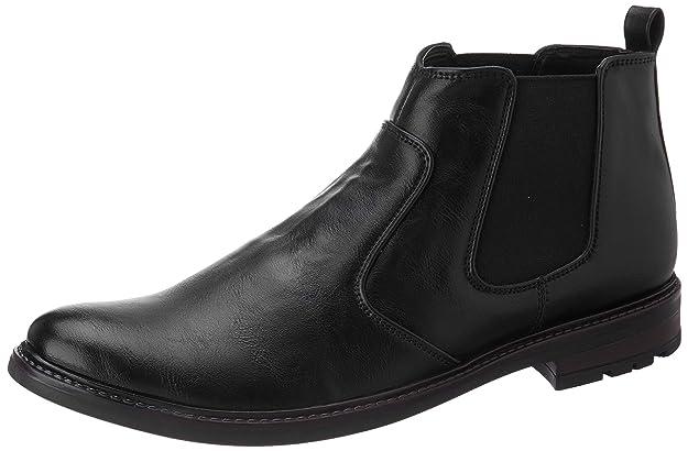Amazon Brand - Symbol Men's Casual Chelsea boots Men's Boots at amazon