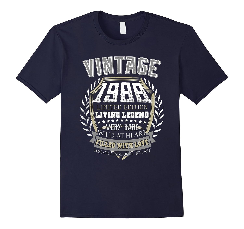 Vintage 1988 28th Birthday 28 Years Old Idea Gift Tee Shirt-BN