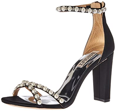 d0f2f331e3b Amazon.com  Badgley Mischka Women s Hooper Heeled Sandal  Shoes