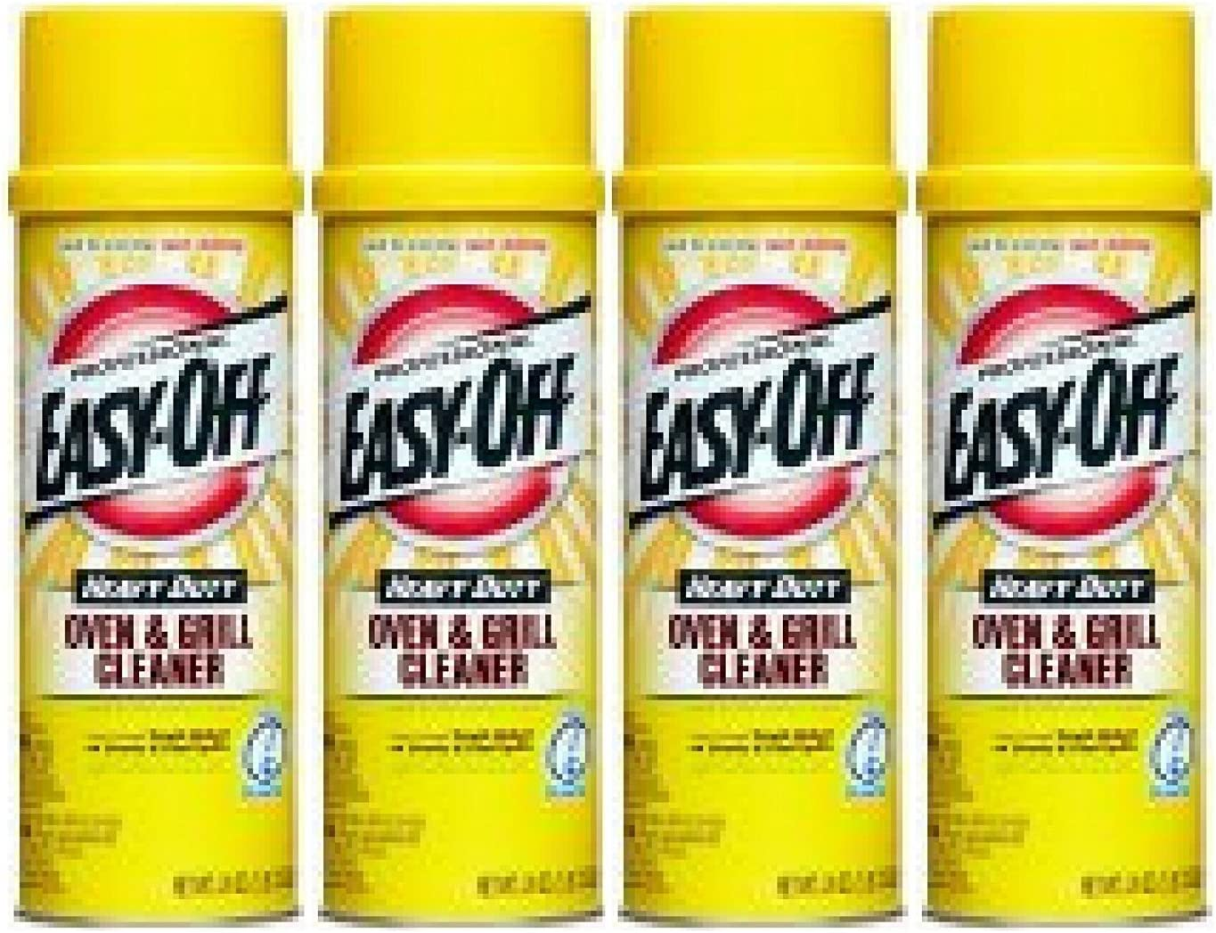 Easy-Off Heavy Duty Oven and Grill Cleaner, 24 Oz - 4 Count