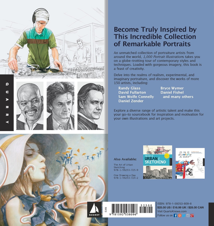 1, 000 Portrait Illustrations: Contemporary Illustration from Pencil ...