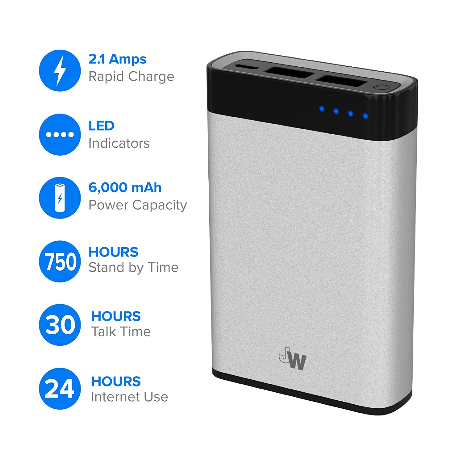 Just Wireless Portable Charger Power Bank External Bestseller Xiaomi Powerbank 10000mah Mi Pro 2 10000 Mah Fast Charging Battery Pack 6000mah Phone For Apple Iphone Including Xs Max Xr X 8 Plus