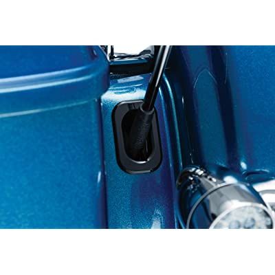 Kuryakyn 3108 Motorcycle Accessory: Antenna Housing Hole Accent for 2006-19 Harley-Davidson Motorcycles, Gloss Black, Pack of 1: Automotive [5Bkhe1012480]