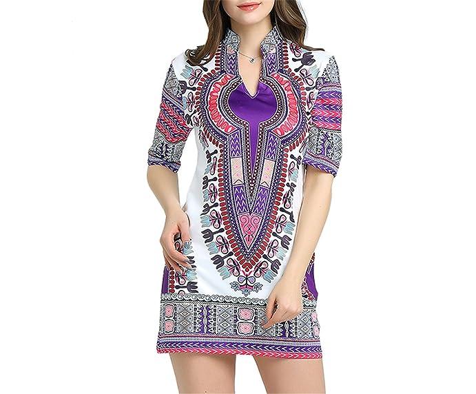Eloise Isabel Fashion Vestidos Para Mulheres Senhoras Vestido Africano Tradicional de Impressão Das Mulheres Vestido de