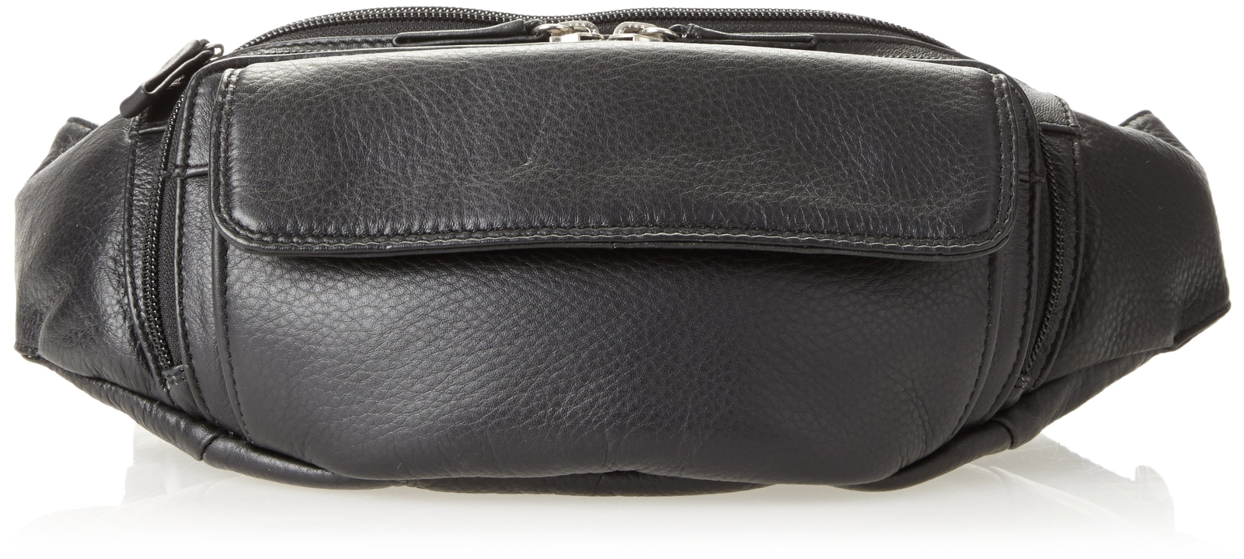 Derek Alexander Waist Bag, Black, One Size by Derek Alexander Leather