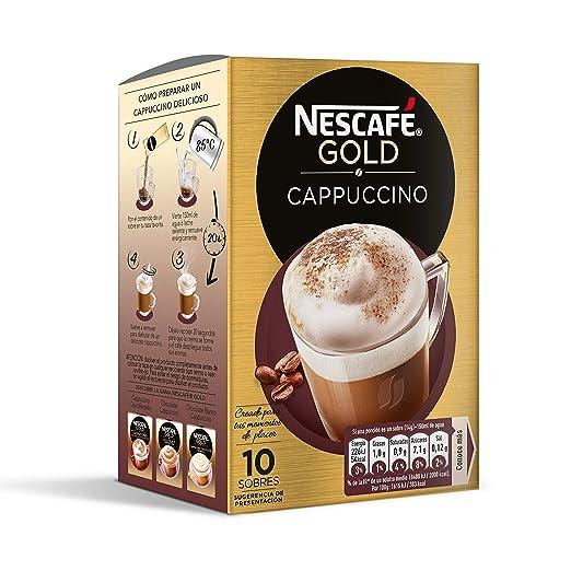 NESCAFÉ Café Cappuccino   Caja de sobres , 140 grams: Amazon.es: Amazon Pantry