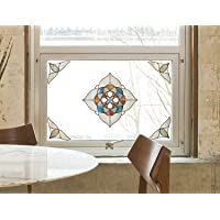 Artscape 02-3713 Venice Amber Window Accent 30.48 x 30.48 cm