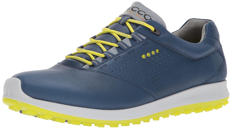 ECCO Men's Biom Hybrid 2.0 Golf Shoe B06XCFZK2M 39 EU / 5-5.5 D(M) US|Denim Blue/Sulphur