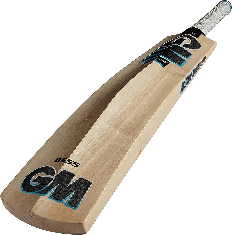 Gunn /& Moore GM Cricket 2019 Diamond 101 Colore: Nero//Blu//Bianco Misura 5 Mazza da Cricket