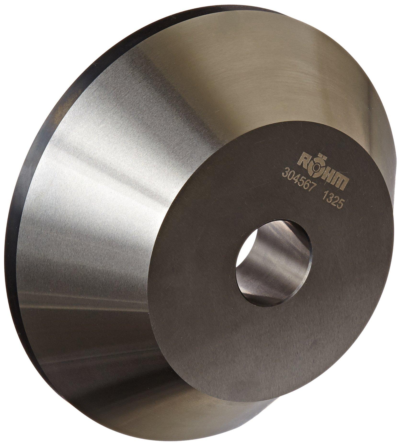 Röhm 304567 Type 608-20 Centering Insert AZ with 75 Degree Taper for Morse Taper 4, Standard Version, Size 3, 150mm Body Diameter, 45mm Length