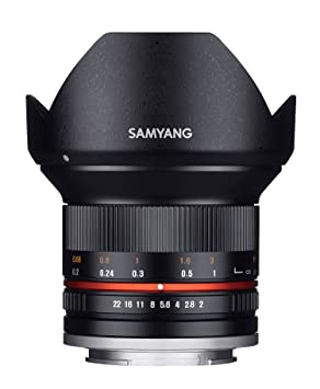 Samyang 12mm F2.0 NCS CS Photo Manual Camera Lens for Sony E Mount DSLR Camera Lenses at amazon
