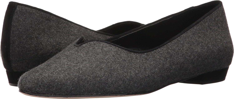 VANELi Womens ganet Closed Toe Mules B01MR06NOQ 9.5 W US|Dark Grey Flannel/Black Suede