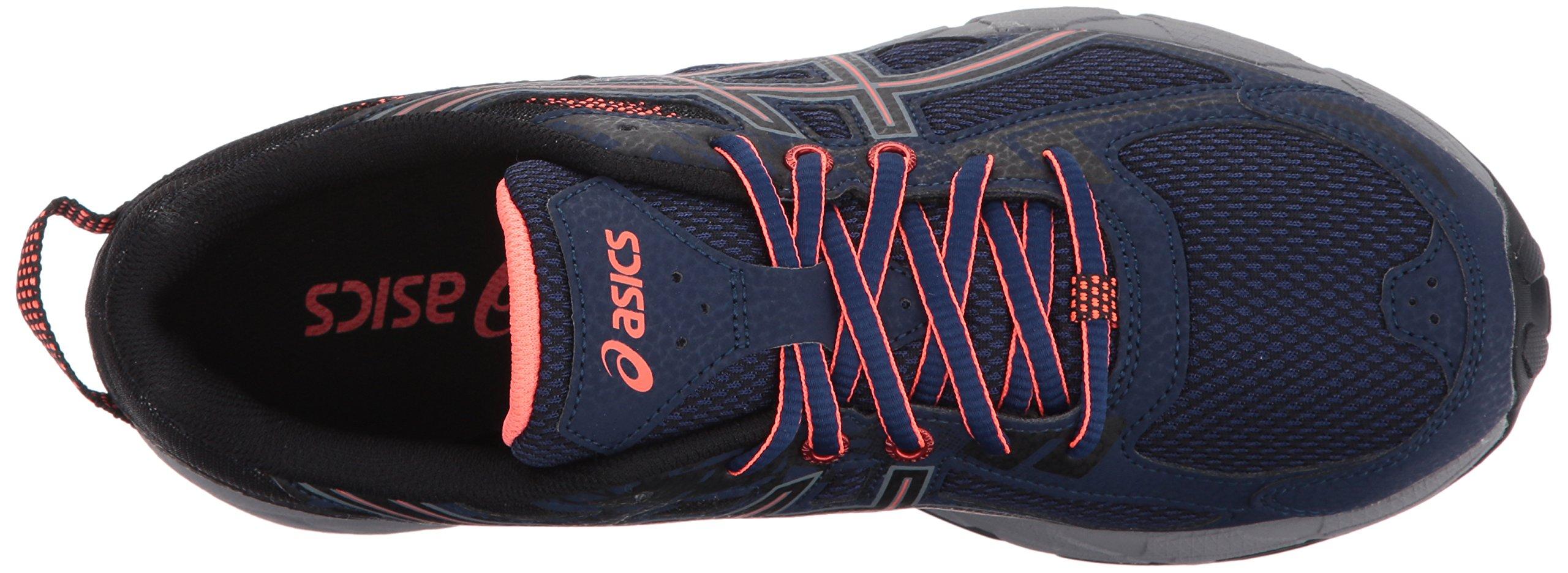 ASICS Women's Gel-Venture 6 Running-Shoes,Indigo Blue/Black/Coral,5 Medium US by ASICS (Image #8)