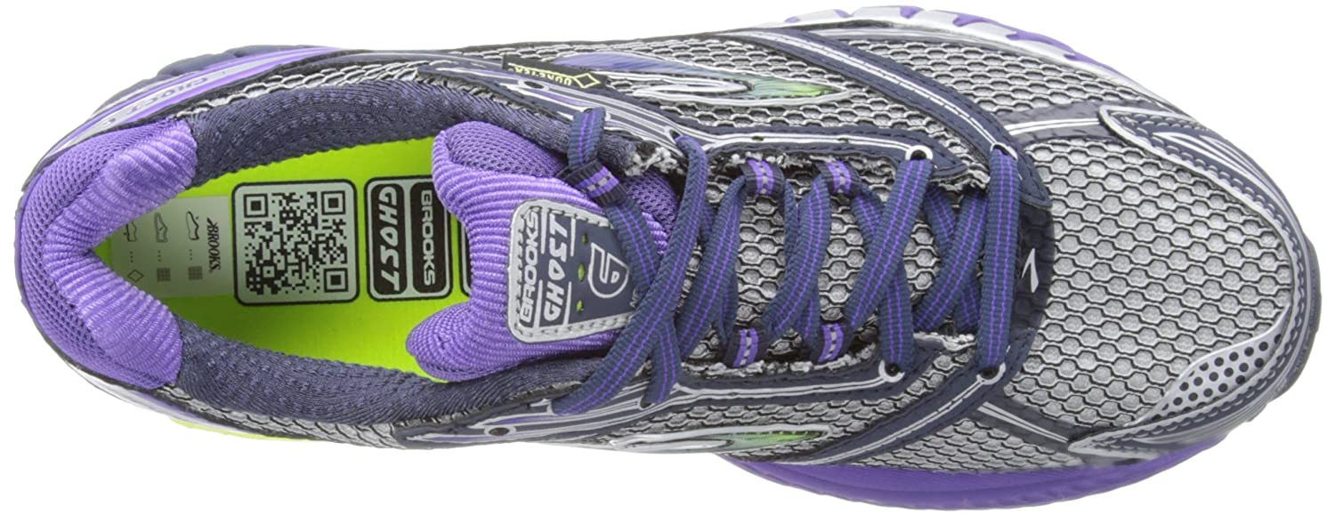 2f3b3b0e33f Brooks Womens Ghost 6 Gore Tex W Running Shoes 1201431B716 Minight Ultra  Violet Passat Grey Silver Black 9.5 UK