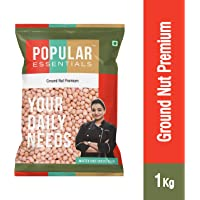 Popular Essentials Premium Raw Ground Nut, 1kg
