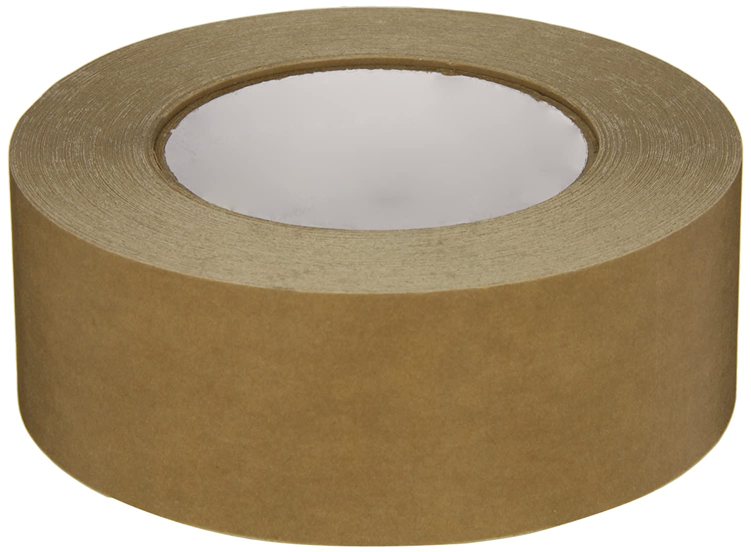 Intertape 530 Synthetic Rubber Utility Grade Flatback Adhesive Tape, 0.18mm Thick x 54.8m Length x 48mm Width, Brown (Case of 24 Rolls) by Intertape B009AFEJTO