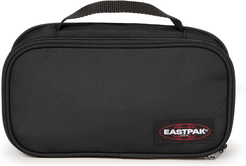 Eastpak Flat Oval L Estuche, 23 Cm, Negro (Black)