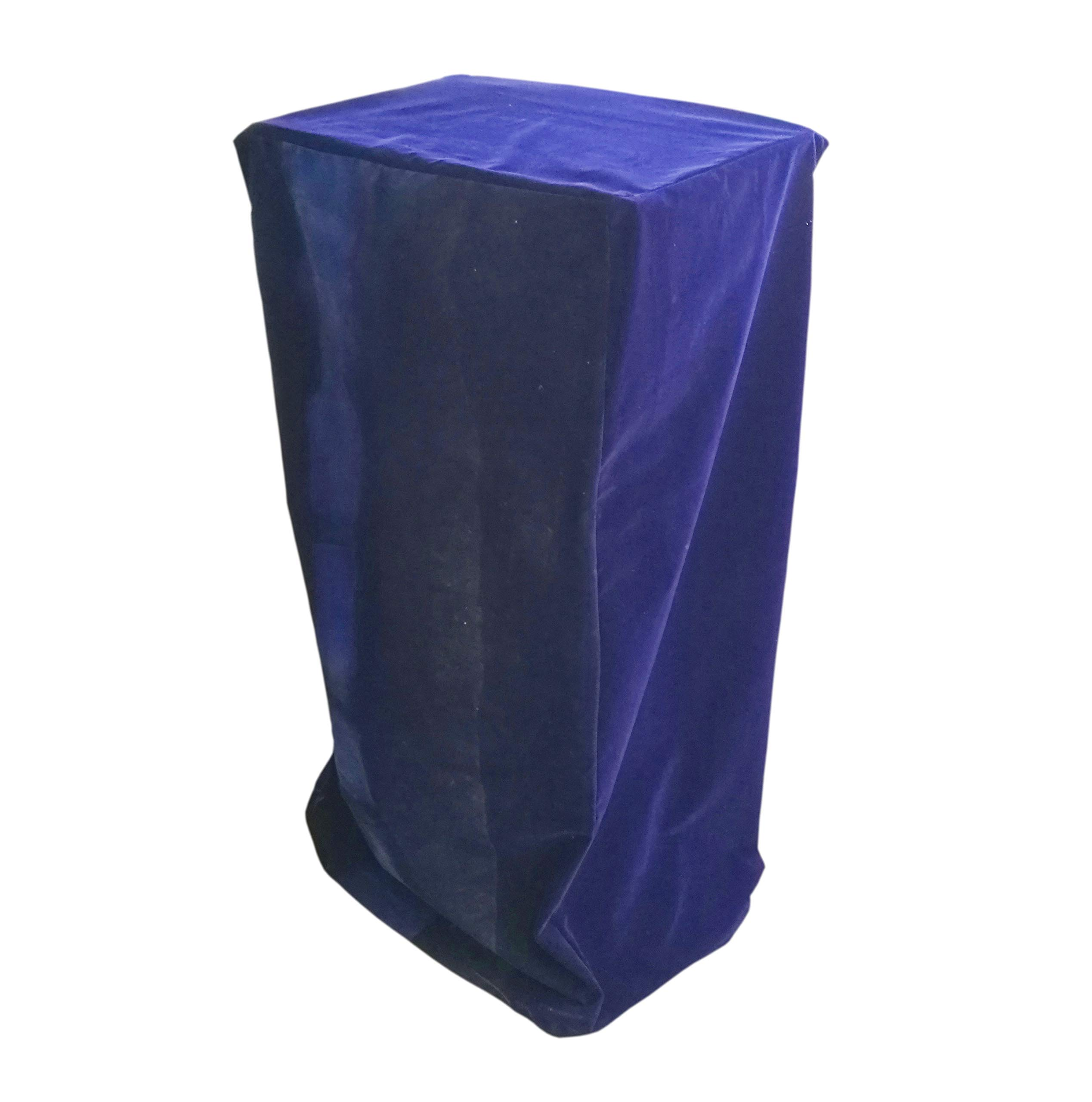 FixtureDisplays Podium Protective Cover Pulpit Cover Lectern Padded Cover 24.2''W x 49''H x 17.7''D 1803-8-BLUE-FBA Fulfilment by Amazon