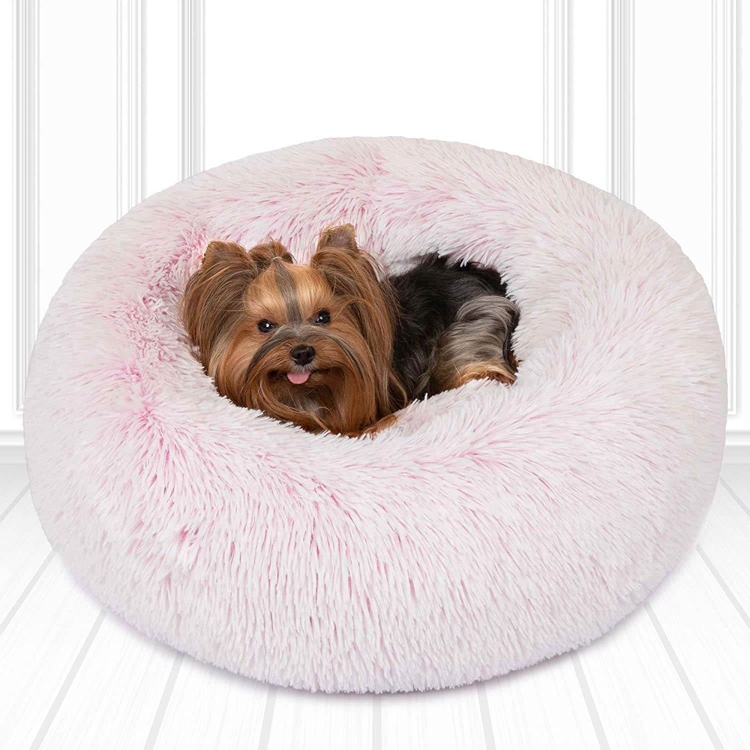 Friends Forever Faux Fur Dog Security Bed