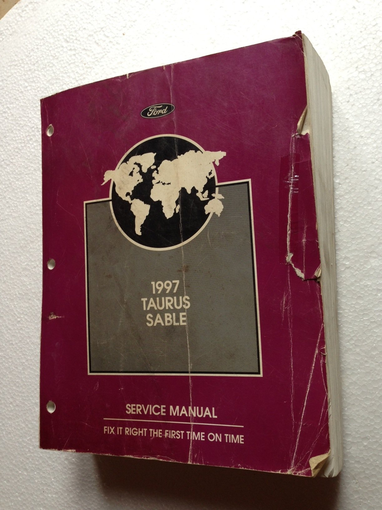 1997 Ford Taurus & Mercury Sable Repair Shop Manual Original: Ford:  Amazon.com: Books