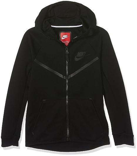 ae5b7912d3f7 Nike Sportswear Tech Fleece Windrunner Big Kids  (Boys ) Hoodie (Medium)   Amazon.in  Sports