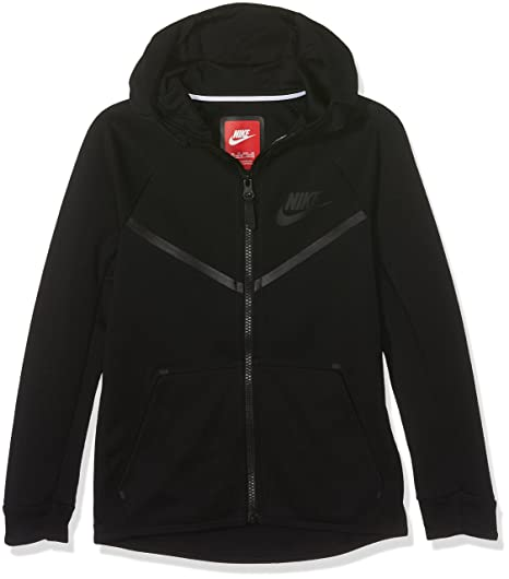 ebe2cd1a7004 Amazon.com  Nike Sportswear Tech Fleece Windrunner Big Kids  (Boys ) Hoodie   Cell Phones   Accessories