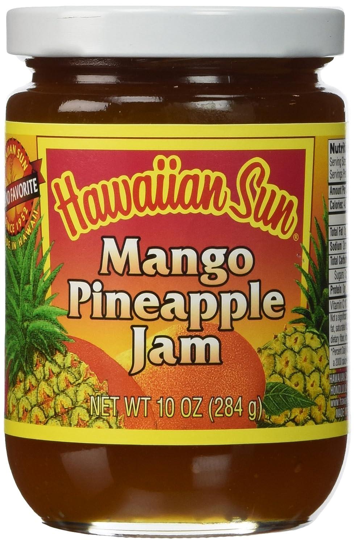 Hawaiian Sun Mango Pineapple Jam (Made in Hawaii) by Hawaiian Sun