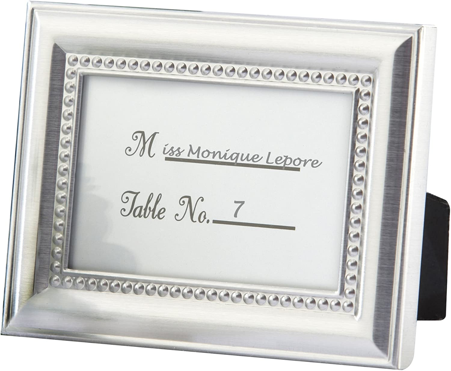 Beautifully Beaded Photo Frame/Placeholder As seen in the hit movie 27 Dresses - Single Frames