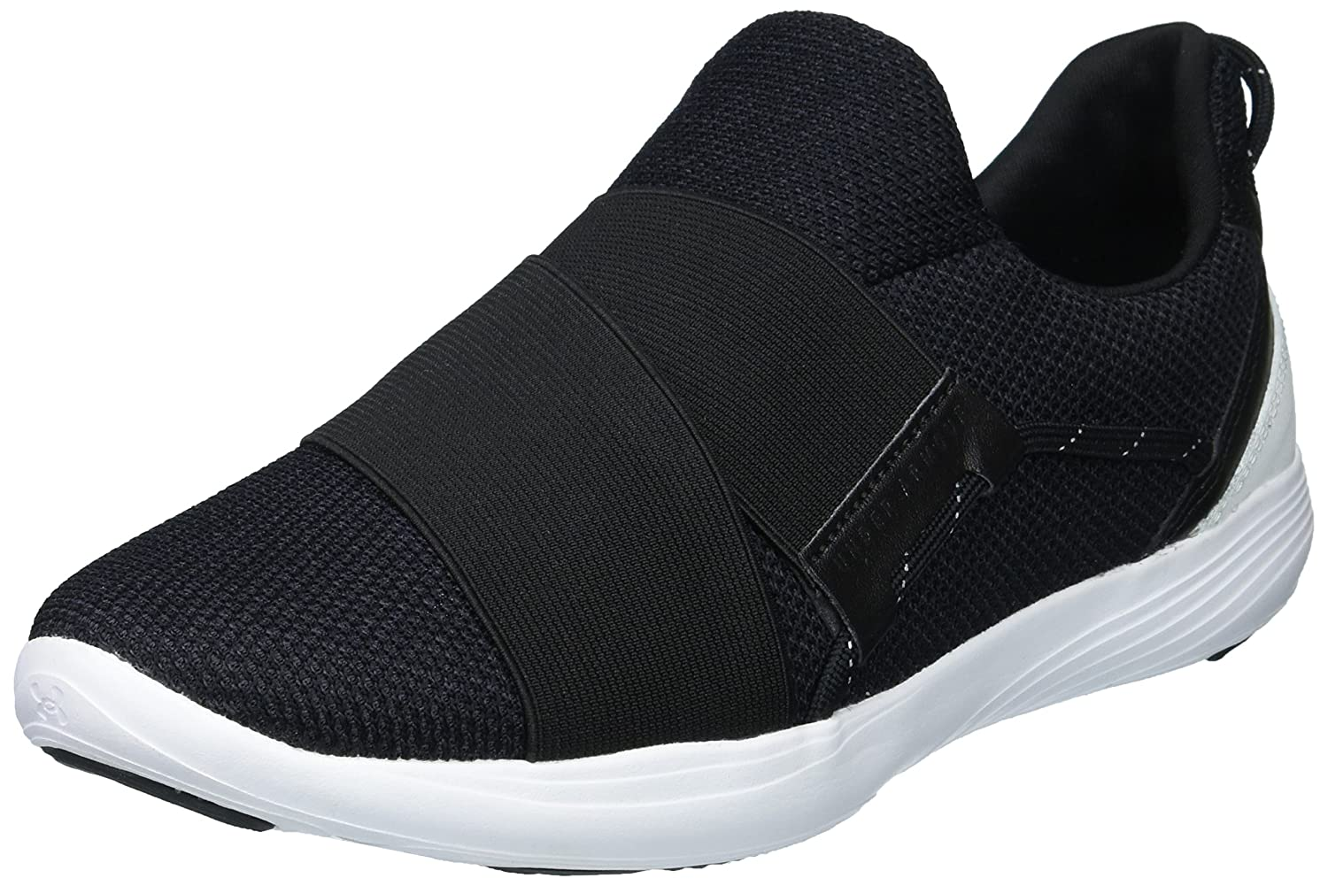 Under Armour Women's Precision X Sneaker B0719KRQM5 8 M US|Black (001)/White