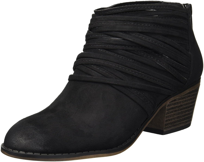 Fergalicious Women's Barley Ankle Boot B07B9WCVWH 5 B(M) US|Black