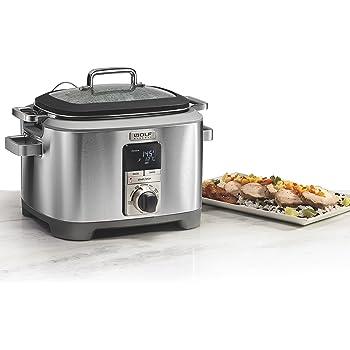 Amazon.com: Wolf Gourmet WGSC110S Programmable Multi
