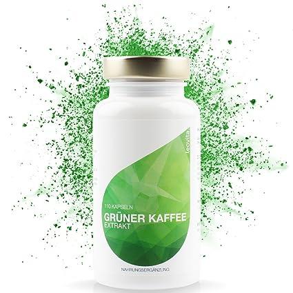 LEOVita Grüner Kaffee Extrakt - Fettverbrennung durch erhöhten Stoffwechsel - schnell Abnehmen - Grüner Kaffee Kapseln hochdo