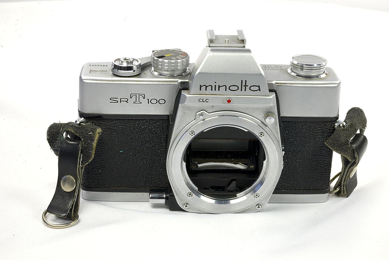 Minolta Sr T-100 35mm SLR Film Camera