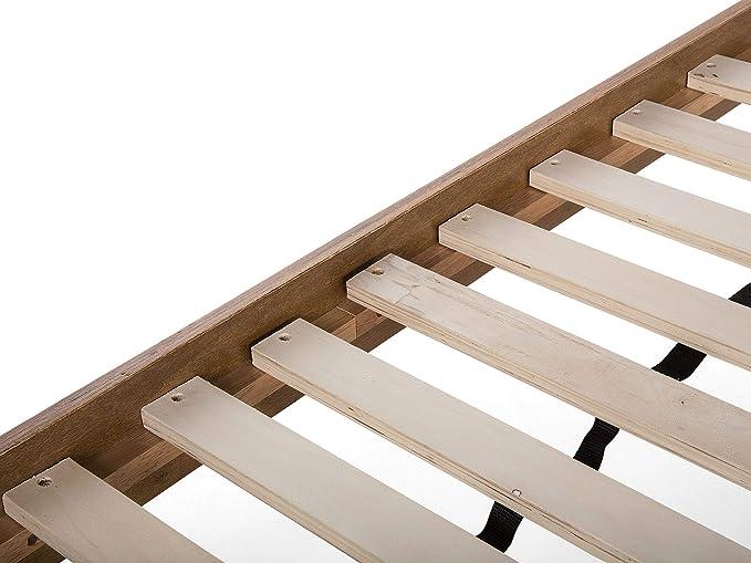 Moderno marco de cama de matrimonio tamaño king de 1,52 m de ...
