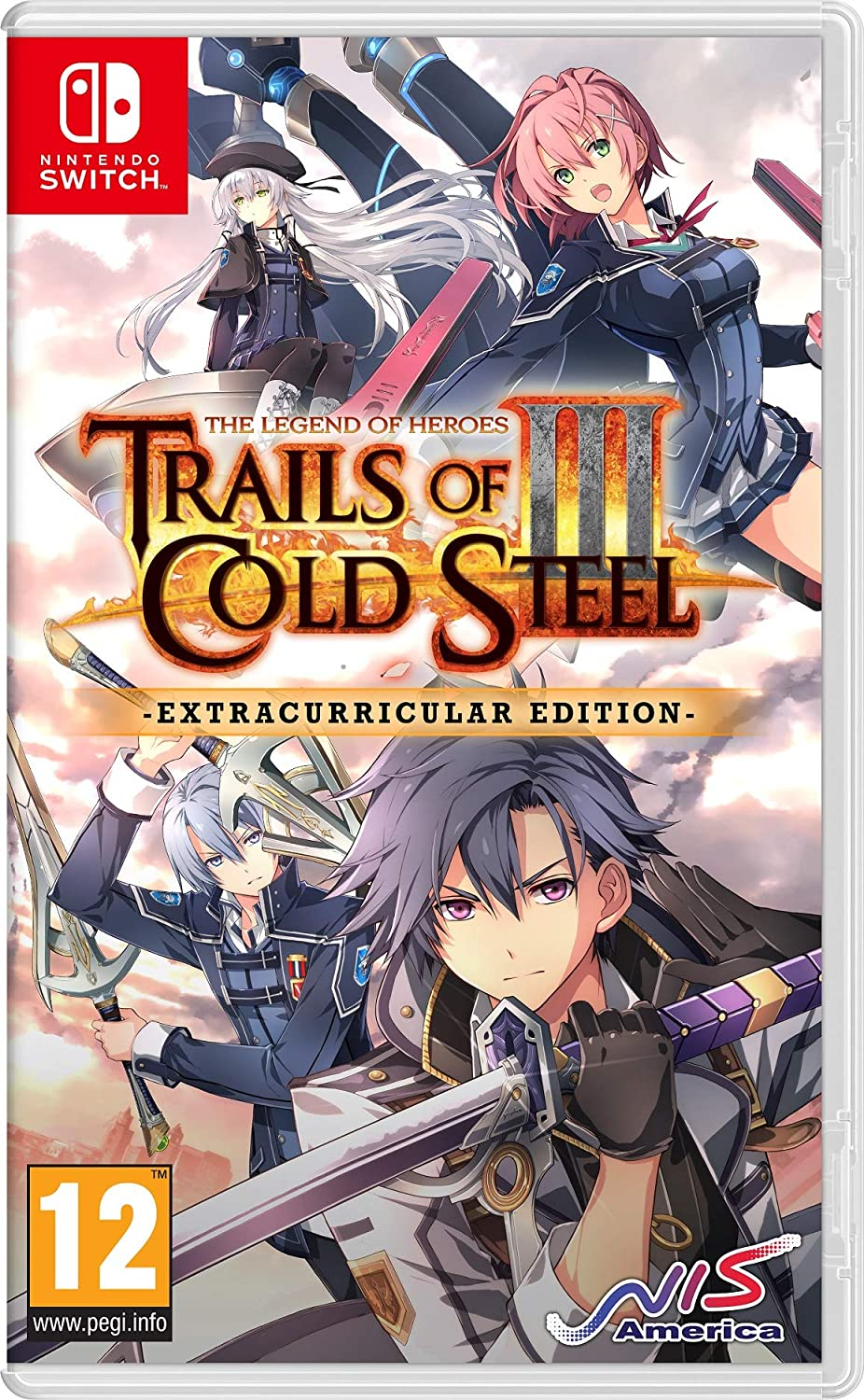 The Legend of Heroes: Trails of Cold Steel III (Extracurricular Edition) (Switch) - Nintendo Switch [Importación inglesa]: Amazon.es: Videojuegos