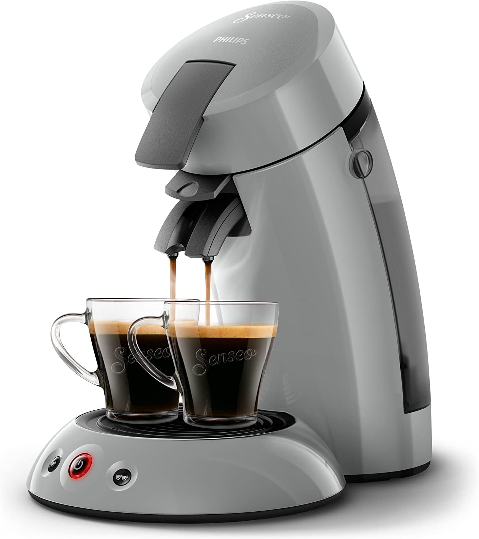 Senseo Original Hd655370 Coffee Maker Freestanding 07 Litres For Coffee Pods 1450 W Grey