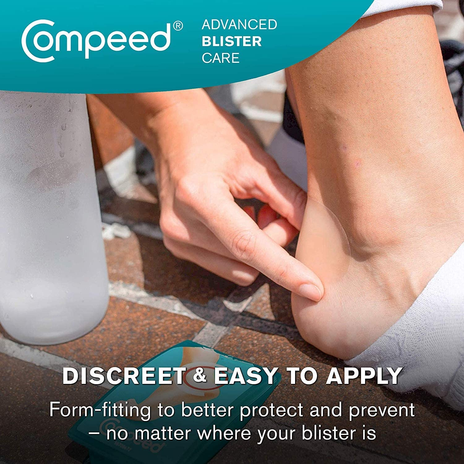 2 Pack Compeed Advanced Blister Care Cushions 6 Count Small Pads
