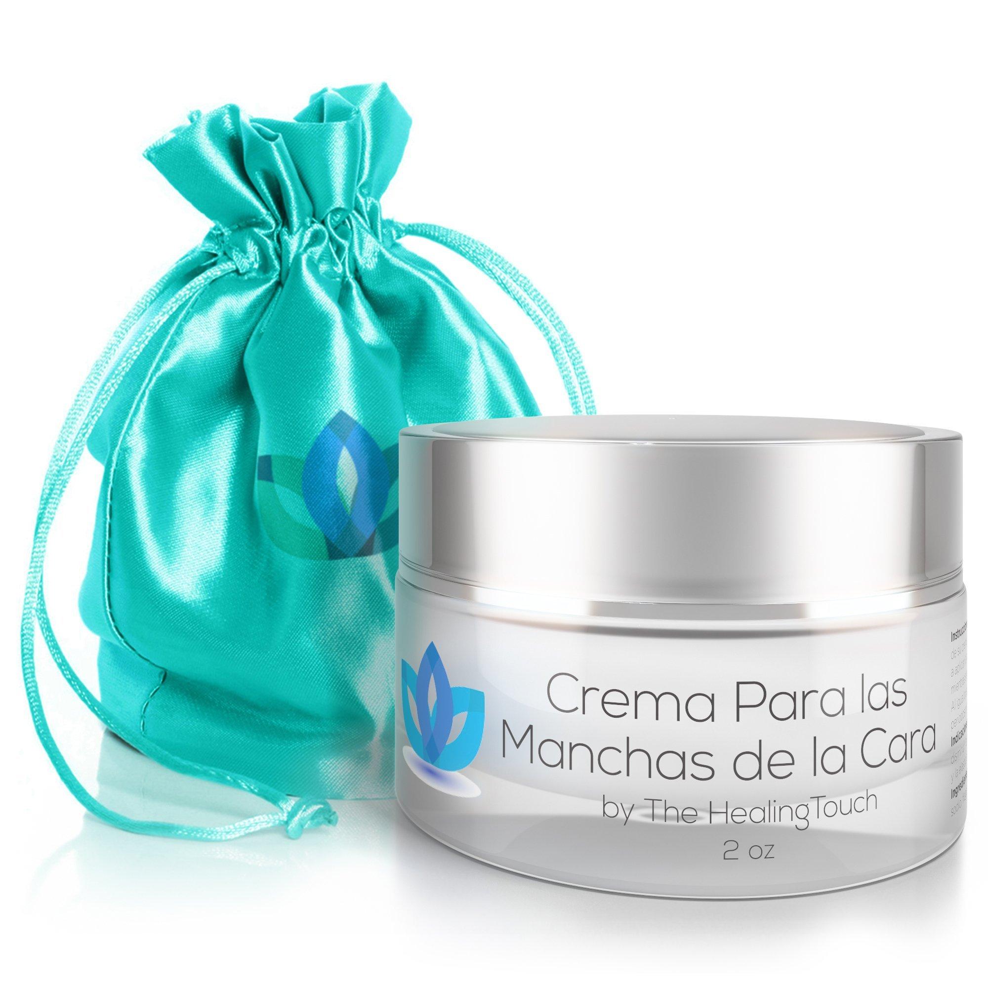 Crema Para Las Manchas de La Cara: Elimina las Manchas Obscuras del Acne, el