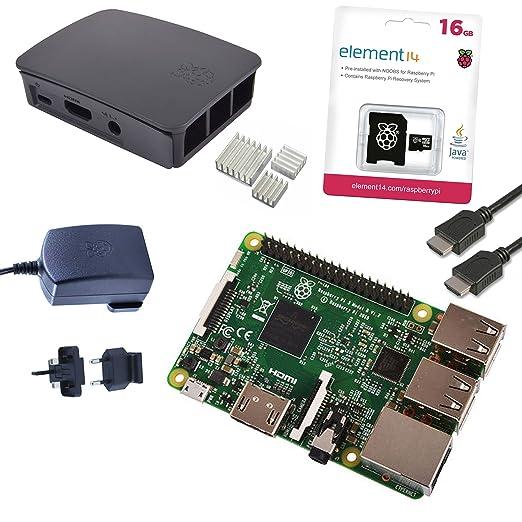 110 opinioni per Raspberry Pi 3 Official Starter Kit