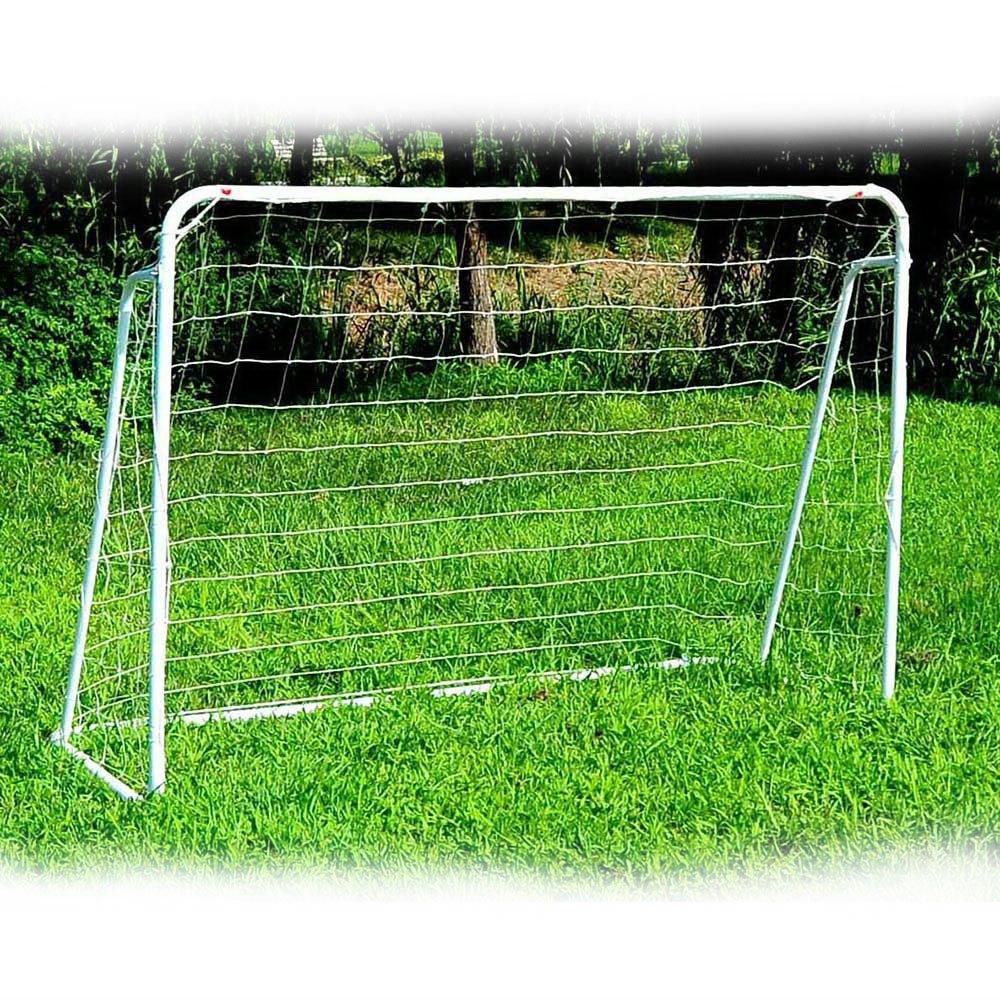サッカーゴール、FCH 8 ' x 5 'サッカー目標トレーニングSet with Net裏庭アウトドアインドアクイックセットアップバックルGroundネイルFootball Soccerスポーツ B0799FW28V