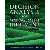 Decision Analysis for Manageme