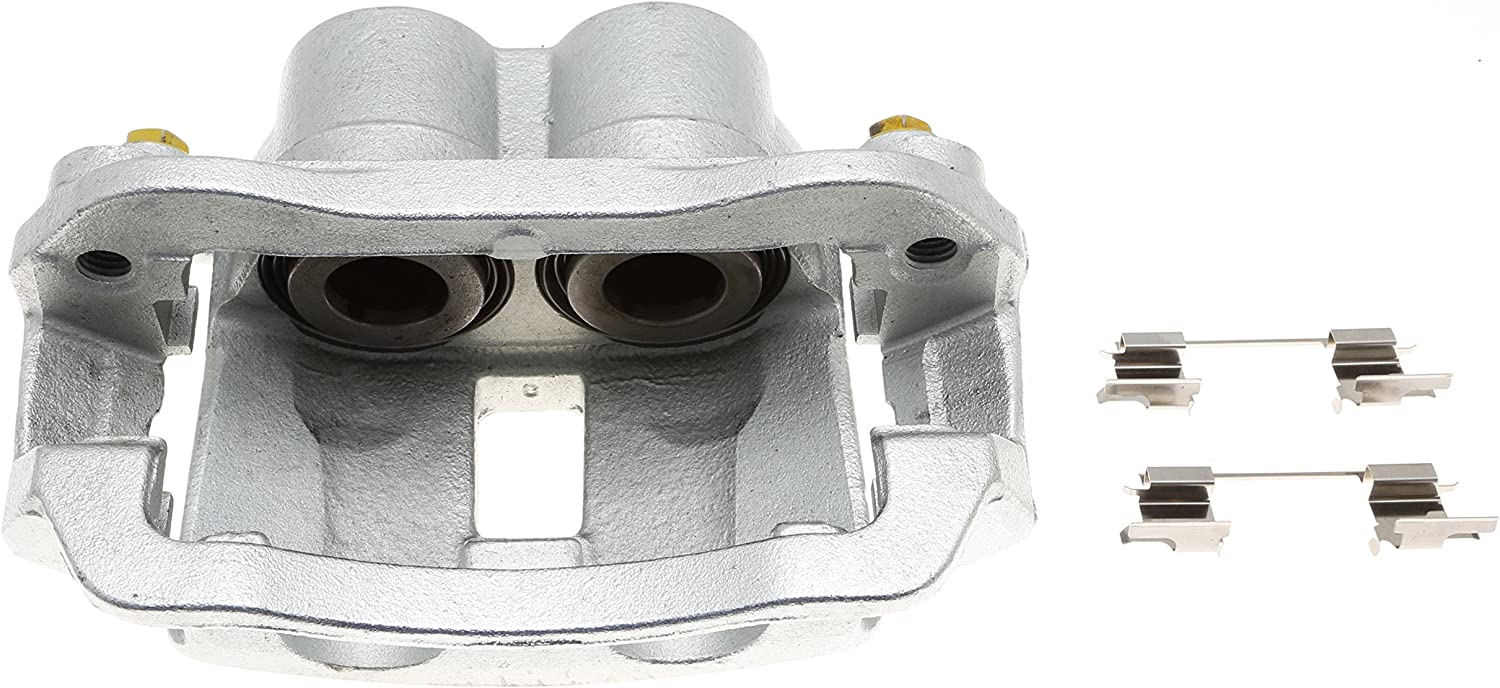 Friction Ready Coated Remanufactured ACDelco 18FR2172C Professional Rear Passenger Side Disc Brake Caliper Assembly without Pads
