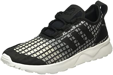 purchase cheap 8ece1 65348 adidas Damen ZX Flux ADV Verve Sneaker Schwarz BlackCore White, 36 EU