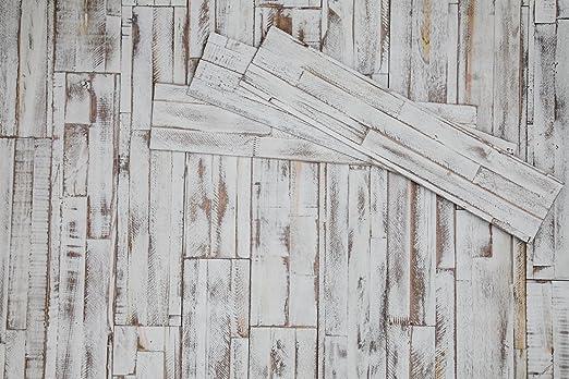 Diy Wandpaneele Selbstklebend Aus Echtholz Von Mywoodwall Schone 3d Wandverkleidung Brushed Coral Weiss 100 Fsc Zertifiziert Und Umweltfreundlich 1 Paket A 1 725m Sonderverkauf Amazon De Baumarkt