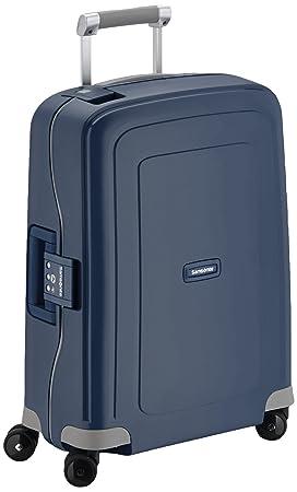Samsonite S'cure - Equipaje de mano, Azul (Dark Blue), S (55cm-34L)