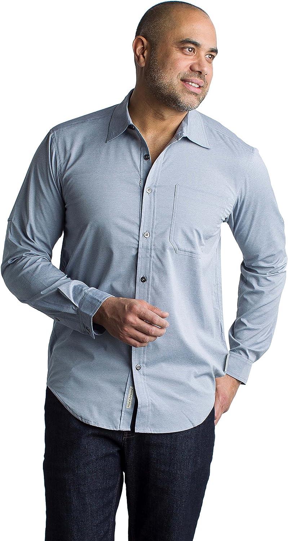 ExOfficio Men's Toreno Moisture-Wicking Long-Sleeve Shirt