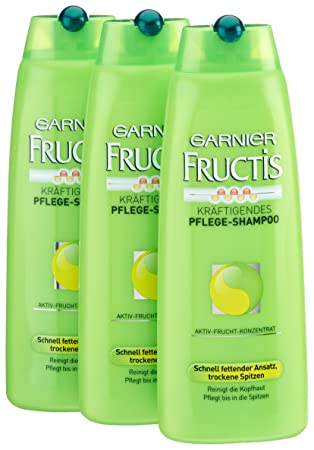 Garnier Fructis Kräftigendes Pflege Shampoo Schnell Fettender Ansatz