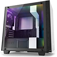 NZXT CA-H400W-WB Micro ATX Mini Tower Computer Case Chassis