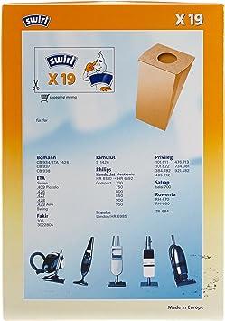 10 Staubsaugerbeutel passend wie PH 83  X 19